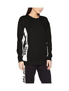 0ab04211fe Vans Women s Station Crew Sweatshirt Black 6 (Manufacturer Size XS ...