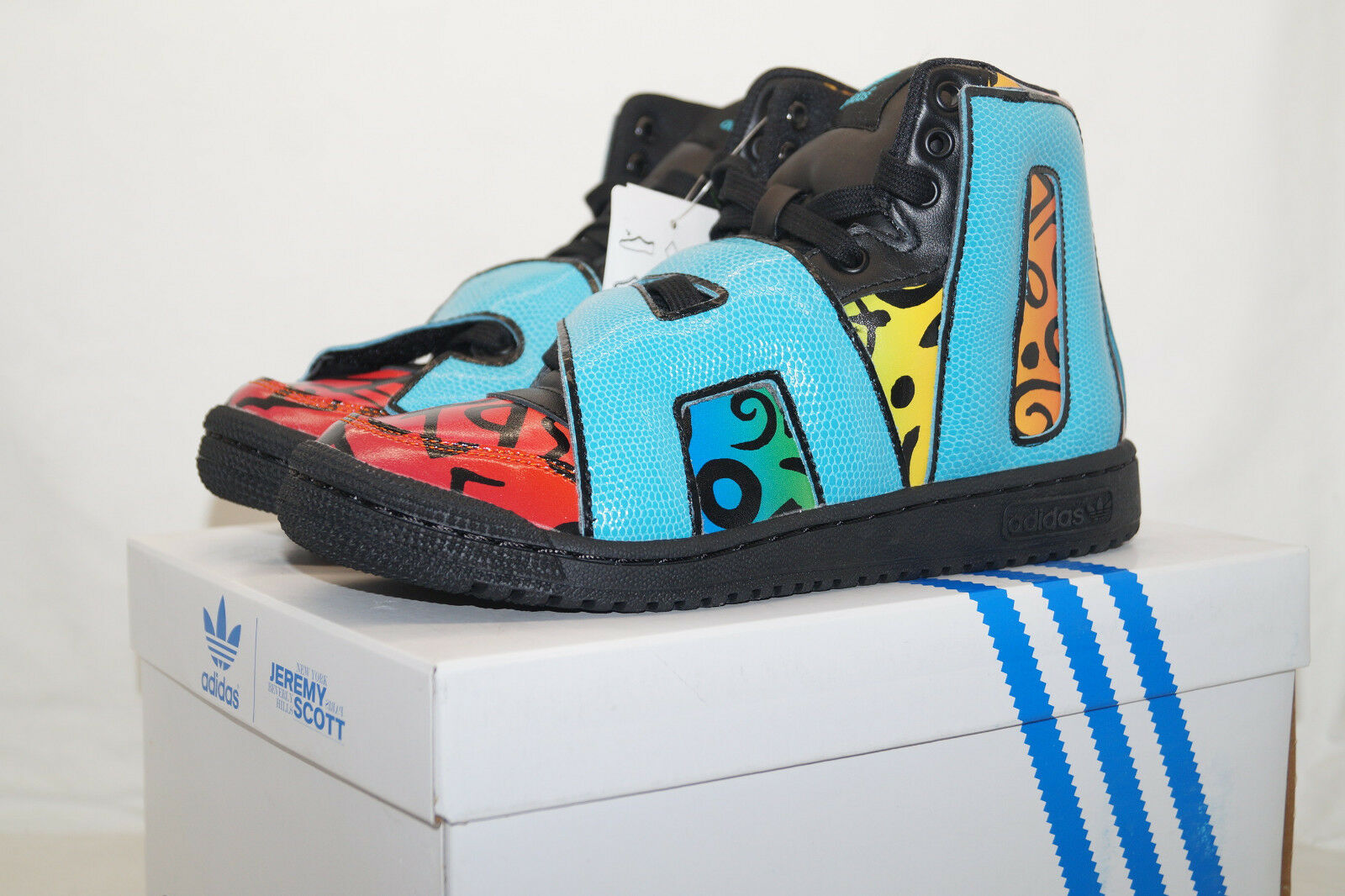 adidas originals Jeremy Scott JS LETTERS MULTIFarbe EU 40.6 UK 7 unisex D65213