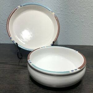 "DANSK INTERNATIONAL MESA WHITE Cereal Bowl 6"" And 7 1/2"" Salad Plate"