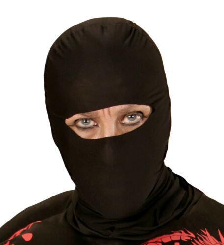 ADULT Adult Unisex NINJA MASK Accessory for Oriental Fighter Soldier Fancy Dress