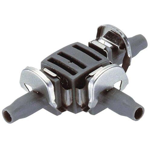 """4,6 mm Quick und Easy Gardena 08330-20 Micro-Drip-System T-Stück 3//16/"""""""