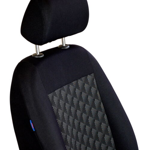 3d negra para fundas para asientos toyota corolla asiento del coche delante de referencia sólo asiento del conductor