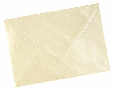 "6 x 4/"" 100gsm Quality 50 x A6 C6 Shell Pink Pearlescent Envelopes 114 x 162mm"