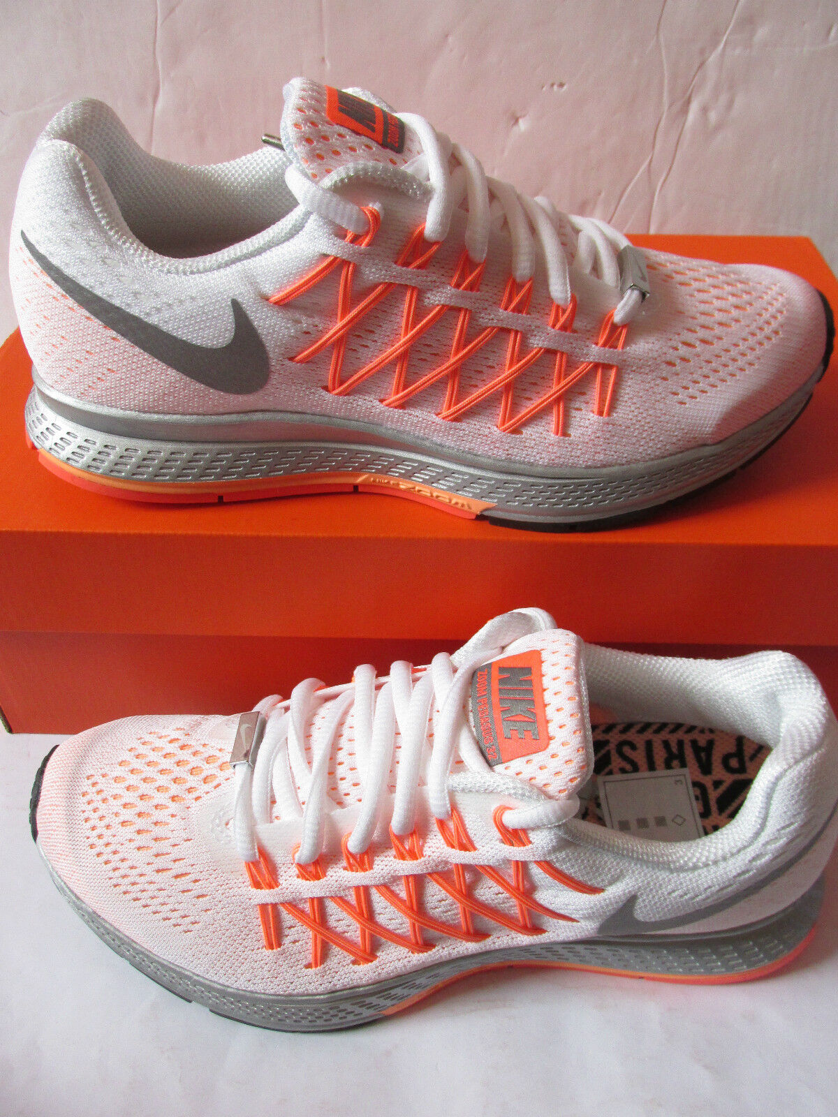 nike womens air zoom pegaus 32 NWM running trainers 789694 100 sneakers shoes