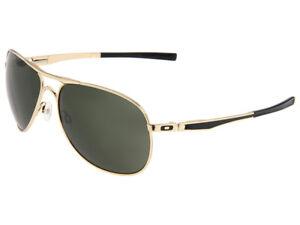 Oakley-Plaintiff-Sunglasses-OO4057-02-Polished-Gold-Dark-Grey