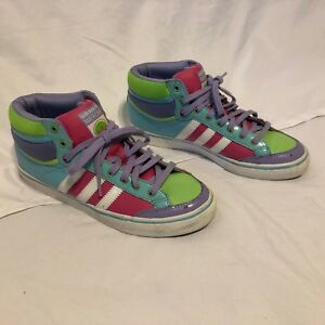 promo code 51663 3d66f Image is loading Adidas-Americana-Mid-Vulcan-G06043-Retro-Shoes-Size-