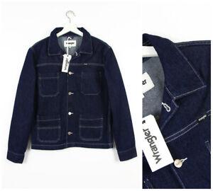 Grezzo Jeans m Regular Bordo Lavoro Di Nuovo Giacca Carpentiere Da S Wrangler T1nwqUY8