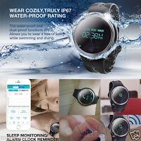 GSM Smart Watch SIM Bluetooth Pulsuhr für IOS Android Herzfrequenz Wasserdicht