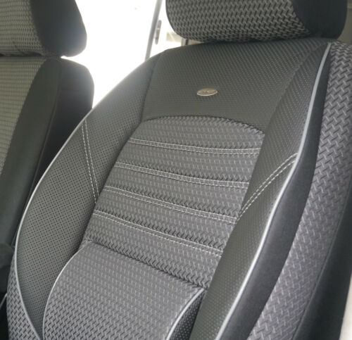 Schwarzer Velours Sitzbezüge  HYUNDAI i30 Autositzbezug Set