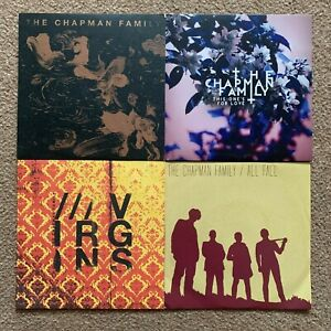 """The Chapman Family - All Fall/Virgins/Kids/This One's For Love (7"""" Vinyl Set)"""