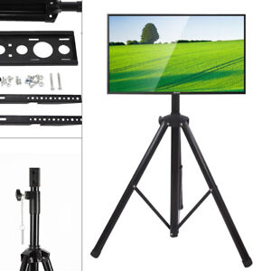 NEW-Portable-Tripod-TV-Stand-Television-LCD-Flat-Panel-Monitor-Mount-34-to-50-034