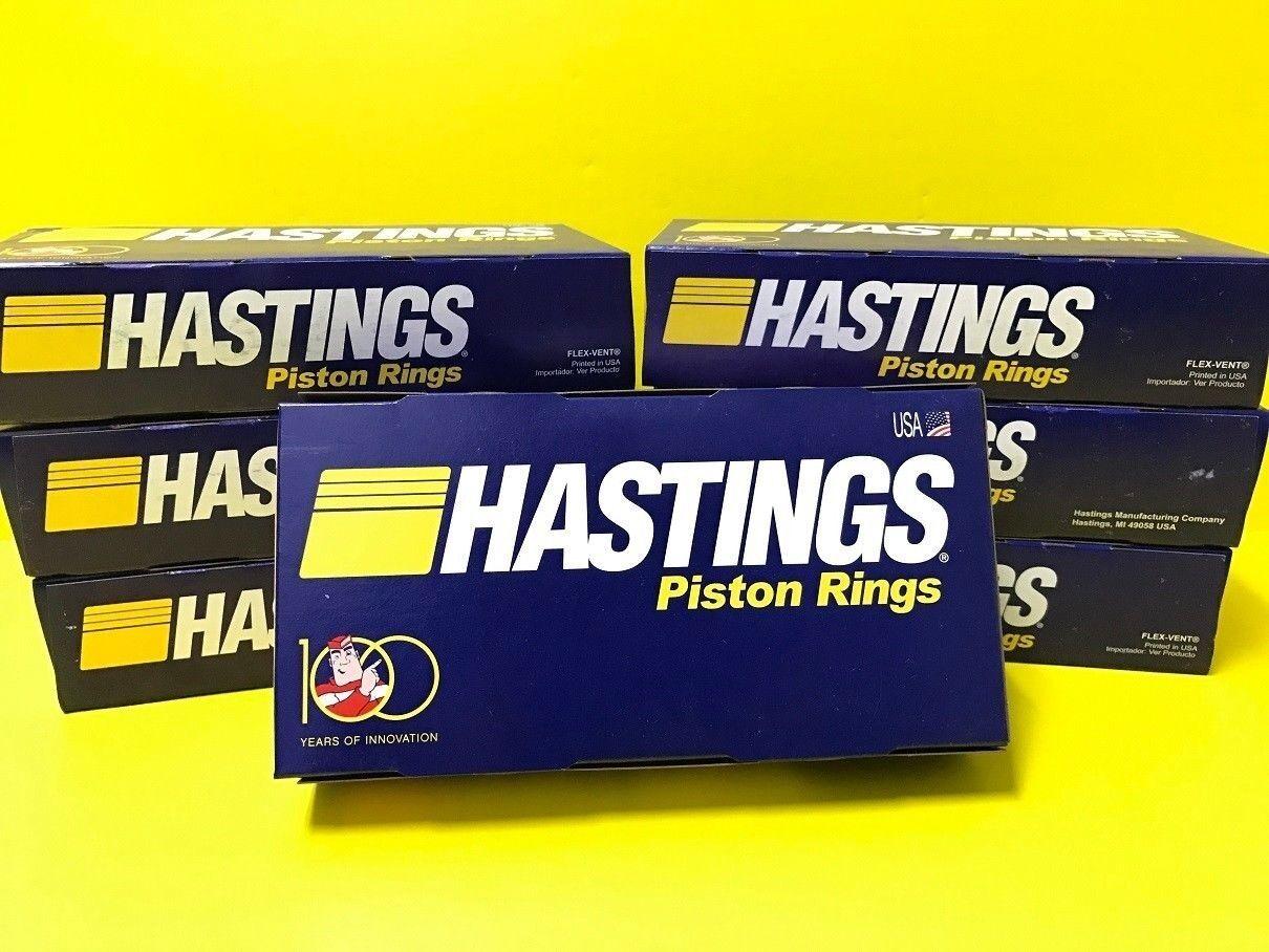 Hastings 2C6134S030 Single Cylinder Piston Ring Set