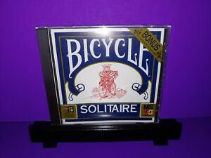 Bicycle Solitaire PC CD ROM Over 50 Solitaire Games B455