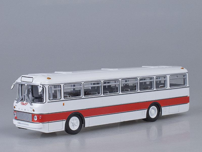 Ikarus - 556 Blanc-Rouge Rétro hongrois Bus 1 43 DIECAST SCALE MODEL. soviétique Bus