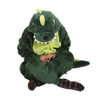 Expédié de Paris - Kigurumi Pyjama Combinaison Crocodile Animaux Enfant 7-12 ans