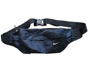 Nike Bum Bag Blue Cordura Fanny Pack Waist Pouch Travel Belt ... d188154a81