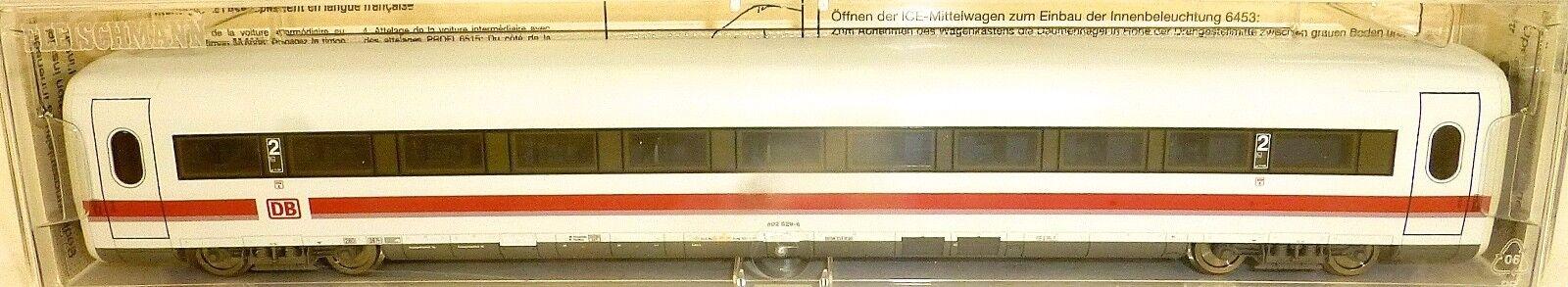 Ice Vagón Intermediario 2º Kl Dbag Amplio Bvmz 802.6 Epv Fleischmann 4449 H0 1