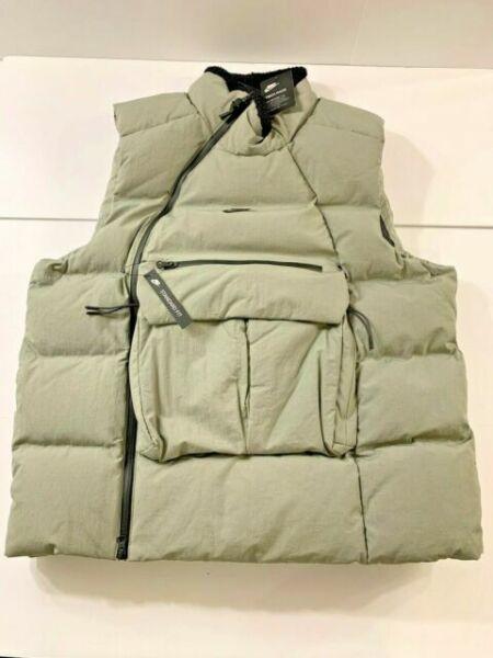 Nike Sportswear Tech Pack Down Fill Vest Mens Large L Dark Stucco 928909 004 For Sale Online Ebay