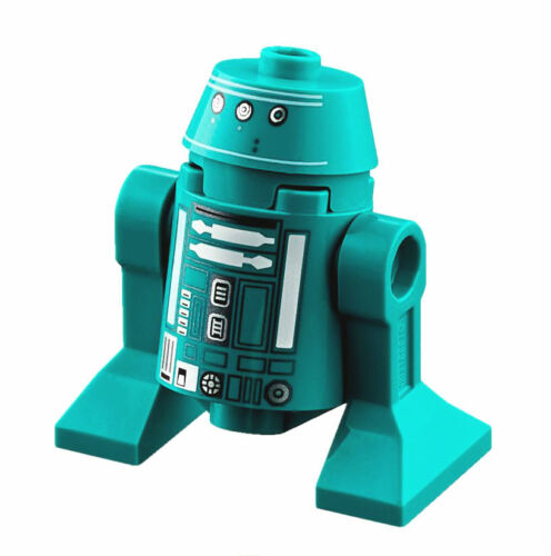Lego Star Wars Astromech Droid Dark Turquoise Minifigure New from set 75249 .