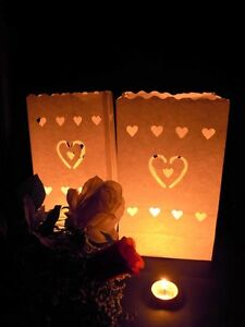 20-x-Heart-Candle-Paper-Bag-Lantern-Wedding-Engagement-Anniversary-Night-Party