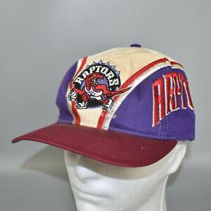 Toronto-Raptors-Vintage-90-039-s-NBA-Twins-Enterprise-Adjustable-Snapback-Cap-Hat