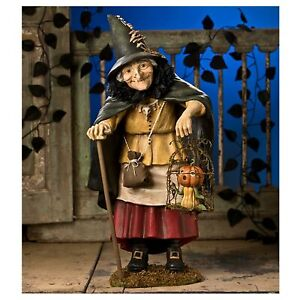 Bethany-Lowe-22-034-Witch-Hazel-Collectible-Classic-Halloween-Figurine-Doll-Decor