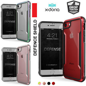info for bed34 dd94a Details about X-doria iPhone 8 / 7 Case,iPhone 7 & iPhone 8 Case Defense  Shield Case For Apple