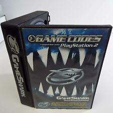 GAMESHARK 2 BROADBAND ENABLED GAME CODES 2004 V.5.4 CHEAT (PLAYSTATION 2) (D600)