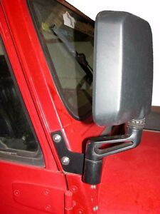 Jp 1018 Skidrow Right Side Black Mirror Relocation Bracket