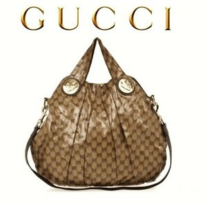 Image Is Loading Gucci Hysteria Crystal Monogram Gg Bag Authentic