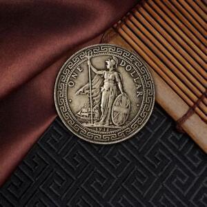 1-pcs-1911-Ein-Yuan-Tibetischer-Krieger-Alte-Silber-Dollar-Muenzen-Sammlermue-S8C0