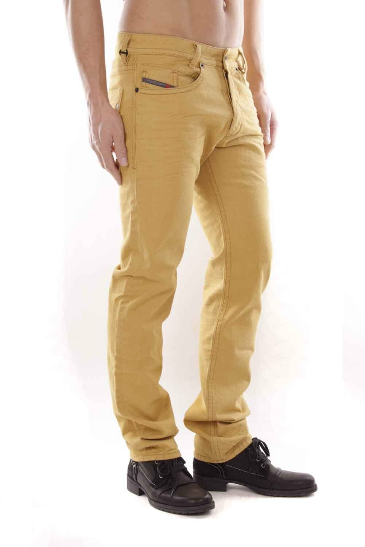 DIESEL Uomo AKEE 084lf Jeans Pantaloni Slim Tapered