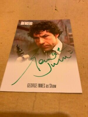 AVENGERS COMPLETE COLLECTION Series 2  AUTOGRAPH CARD GEORGE INNES AVGI2 GRE