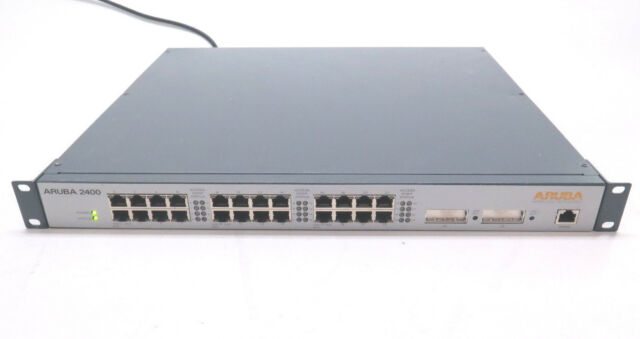 Aruba Networks 2400 Network Mobility Controller 24 FE Ports 2 GE Ports