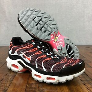 Details about Nike Air Max Plus TN Sneakers Hot Lava Bright Crimson 852630 034 Mens Size 10.5