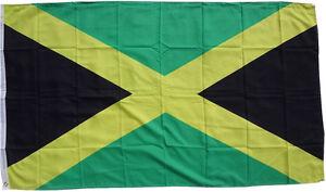 Flagge-Jamaika-2-5-x-1-5-m-Fahne-Hissflagge-Sturmflagge-Hissfahne-Jamaica
