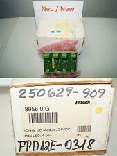 Altech Corp. I/OI - 4 G 8956.0/G Interface Module; Cage de vis; 4; 22-12 AWG; 4A