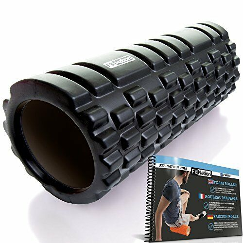Fit Nation Foam Roller Black