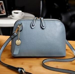 Genuine-Leather-Messenger-Bag-Small-High-Quality-Cow-Cross-body-Shell-Wo-New