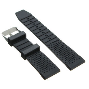 22mm-Black-Silicone-Rubber-Watch-Band-Strap-for-Seiko-Diver-Scuba-fit-22mm-LUG