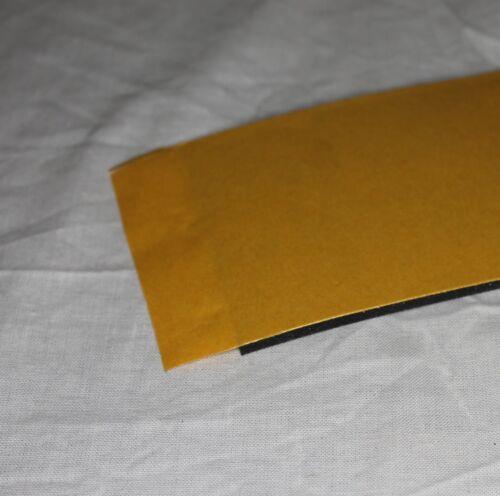 Gummistreifen EPDM 3mm 1400x100mm einseitig selbstklebend ozon witterung Gummi
