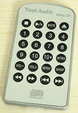 (NEU) Original TIVOLI AUDIO Fernbedienung für Model CD, remote control, silver