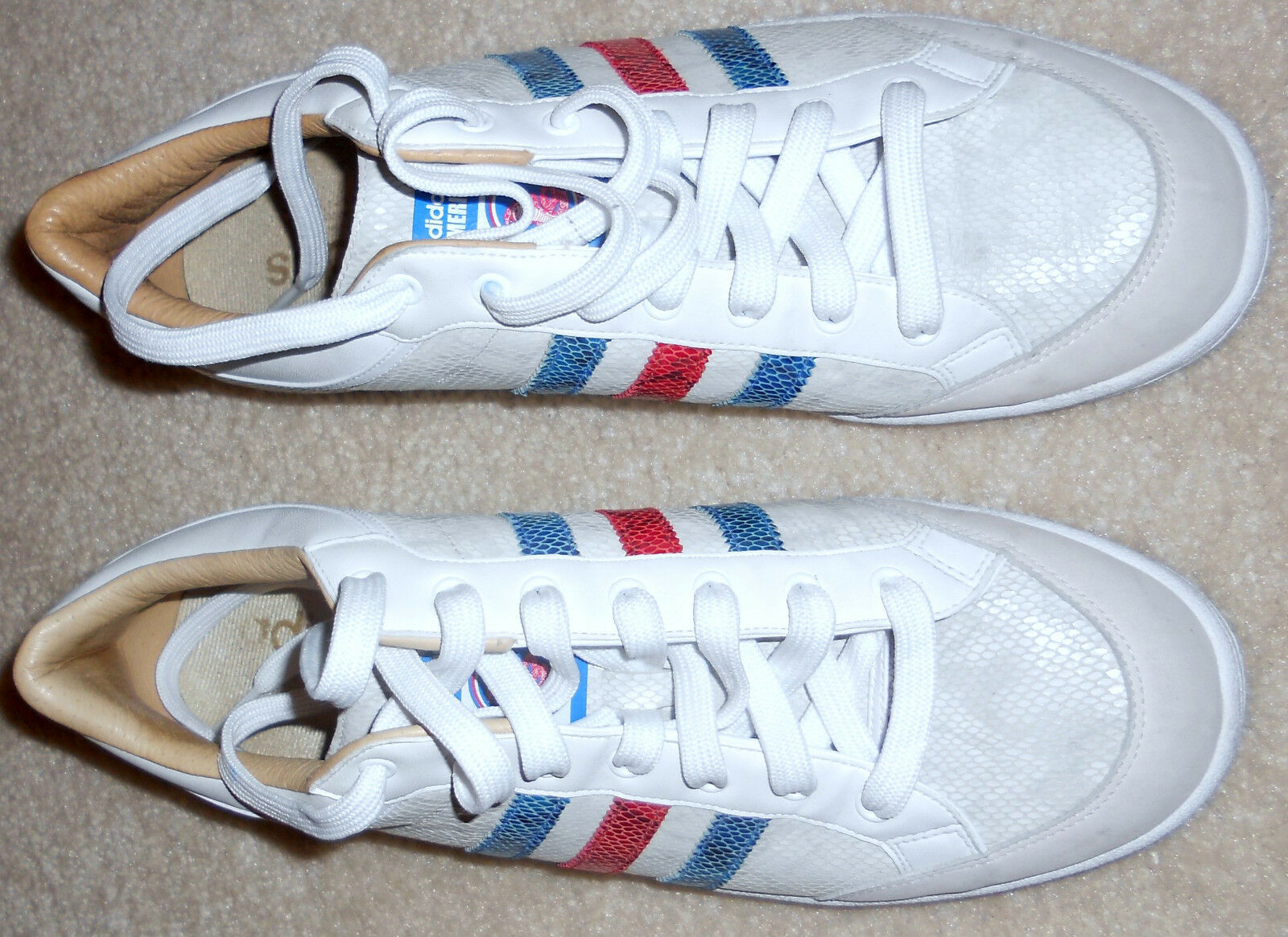 2006 Adidas Americana snake leather 779001 779001 779001 Art 659829 Sz 11 881580