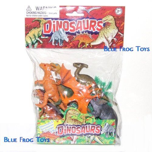 Dinosaure jouets jeu avec 6 dinosaures /& 4 accessoires