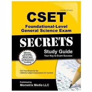 Cset science subtest i general science (215): practice & study.