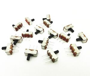 100pcs-SS12D00G4-SPDT-1P2T-2-Position-3-Pin-PCB-Panel-Vertical-Slide-Switch