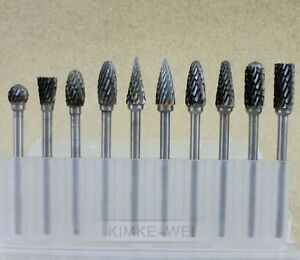 dremel bits for metal. image is loading 10-tungsten-steel-solid-carbide-burrs-for-dremel- dremel bits for metal m