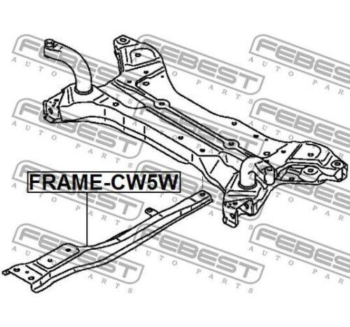 FEBEST Axle Beam FRAME-CW5W