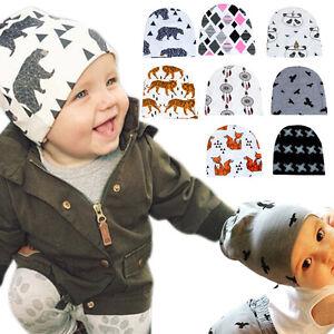 Newborn Kids Cute Knit Crochet Hat Infant Baby Girls Boy Warm Beanie ... 171805bff84d
