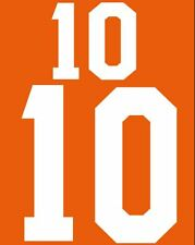#10 Holland World Cup 1986-1988 Home Football Nameset for shirt